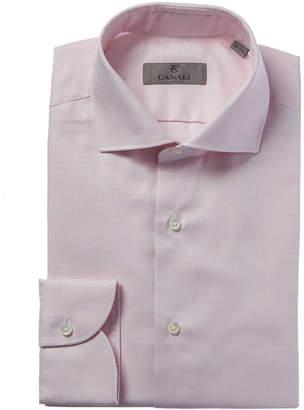 Canali Slim Fit Dress Shirt
