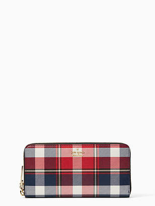 Kate Spade Cameron street rustic plaid lacey