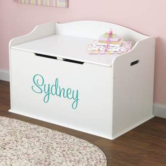 Kid Kraft Personalized Toy Storage Bench