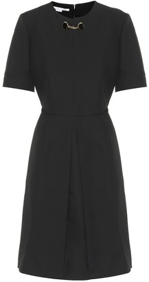 Stella McCartney Wool-blend dress