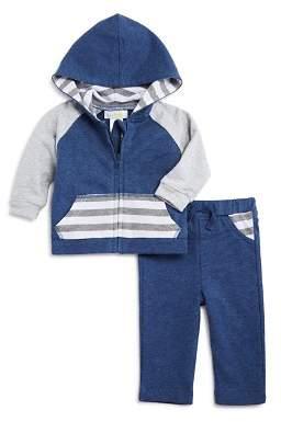 Bloomingdale's Bloomie's Boys' Striped Hoodie & Pants Set, Baby - 100% Exclusive