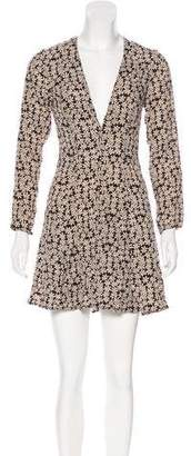 Reformation Calvin Printed Dress w/ Tags