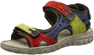 Josef Seibel Womens Stefanie 23 Multi Nubuck Leather Sandals