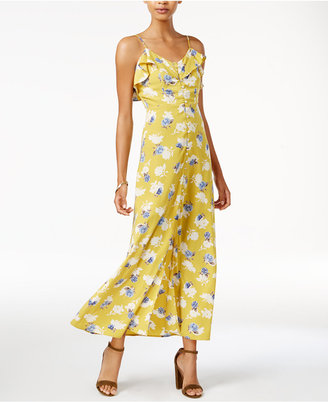 J.o.a. Printed Maxi Dress $105 thestylecure.com