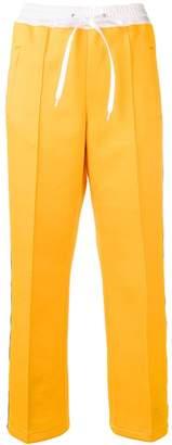 Miu Miu logo track trousers