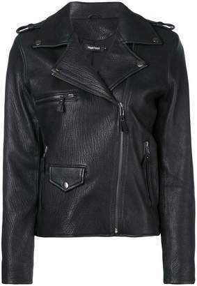 Magali Pascal boxy fit biker jacket