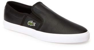 Lacoste Men's Gazon Leather Slip-ons