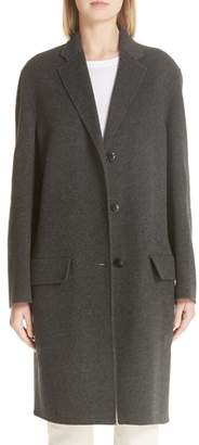 Sofie D'hoore Concord Double Face Wool & Cashmere Coat