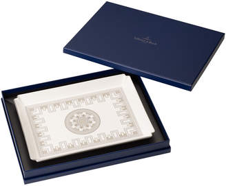 Villeroy & Boch La Classica Contura Gifts Large Serving Tray 11x8.25 in