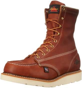 "Thorogood 804-4208 Men's American Heritage 8"" Moc Toe, MAXwear Wedge Safety Toe, - 8 2E US"