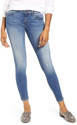KUT from the Kloth Donna Distressed Ankle Skinny Jeans
