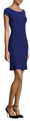 Armani Collezioni Textured Knit Dress $795 thestylecure.com