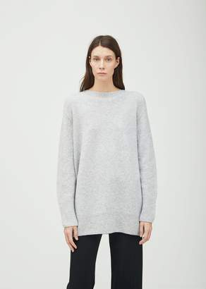 The Row Nolan Crewneck Sweater Light Heather Grey