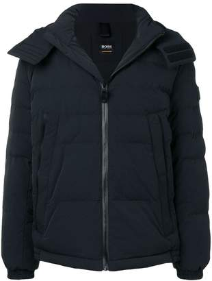 HUGO BOSS padded hooded jacket