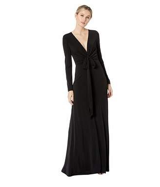 9567abc1 Calvin Klein Black V Neck Dresses - ShopStyle