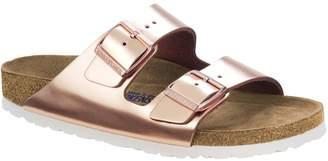 d90ce2de5 at Very · Birkenstock Arizona Narrow Two Strap Slide Sandal - Metallic  Copper