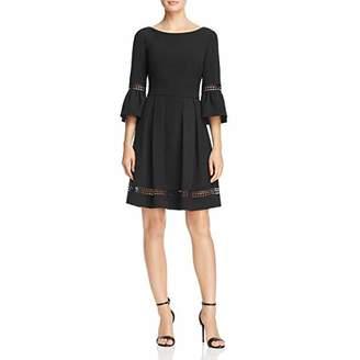 Eliza J Women's Bell Sleeve Fit & Flare Dress