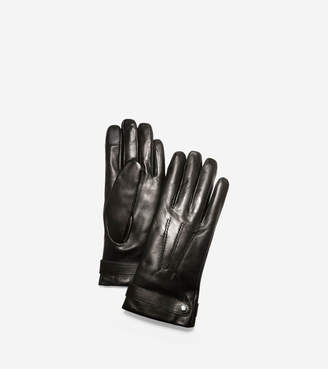 Cole Haan Belted Leather Gloves