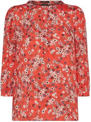 SET Floral Print Blouse