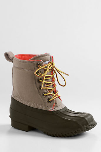 Lands' End Boys' Duck Boots