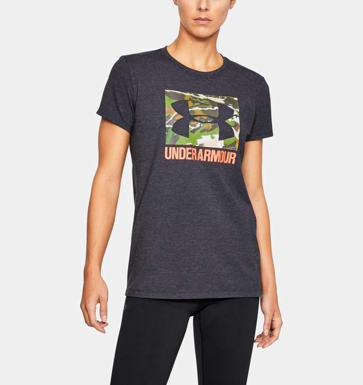 Under Armour Women's UA Camo Logo T-Shirt