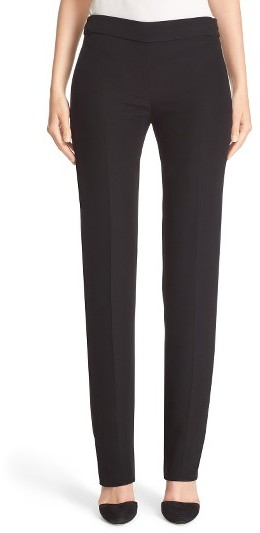 Women's Armani Collezioni Side Zip Cady Pants