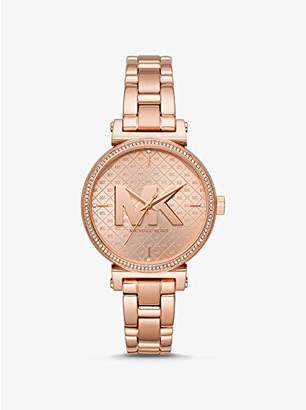 Michael Kors Womens Analogue Quartz Watch with Stainless Steel Strap MK4335