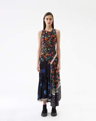 3.1 Phillip Lim Sleeveless Patchwork Floral Dress