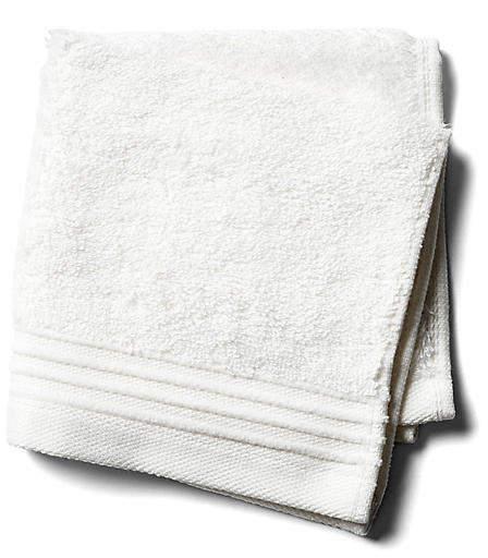 Plaza Washcloth – White