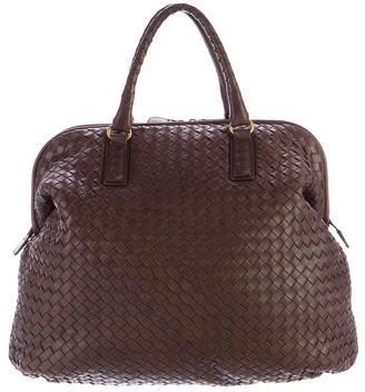Bottega VenetaBottega Veneta Intrecciato Leather Weekender