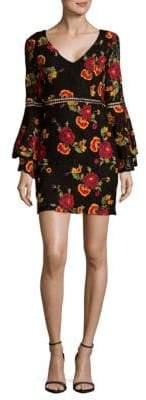 Alexia Admor Ruffled Floral Dress