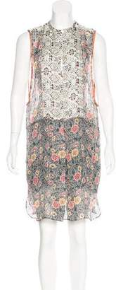 Isabel Marant Silk Sleeveless Dress