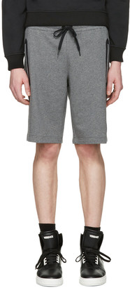 Versace Underwear Grey Medusa Badge Shorts $350 thestylecure.com