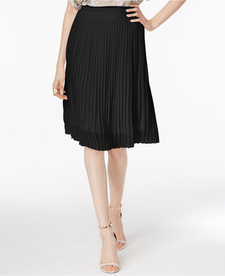 Olivia & Grace Pleated A-Line Skirt $60 thestylecure.com