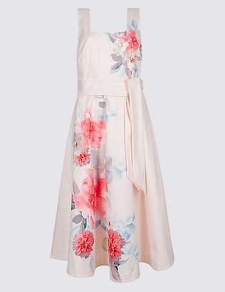 Marks and Spencer Floral Print Skater Midi Dress