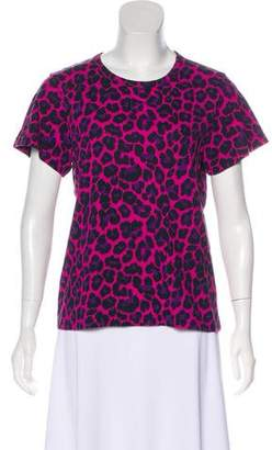 Marc Jacobs Printed Short Sleeve Top