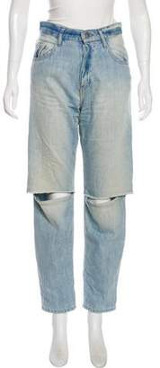 Each X Other High Rise Straight-Leg Jeans
