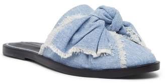 AllSaints Rumour Knit Bow Mule