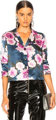 Fleur Du Mal Long Sleeve Pajama Top