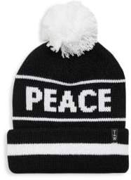 Tiny Whales Toddler's, Little Kid's& Kid's Peace Y'all Pom Pom Hat