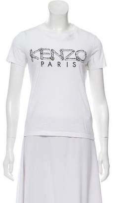 Kenzo Graphic Crew Neck T-Shirt