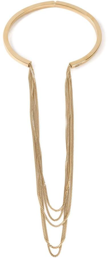 Chloé  Chloé 'Delfine' multi chain necklace