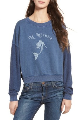 Women's Rails Kelli Mermaid Graphic Sweatshirt $138 thestylecure.com