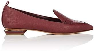 Nicholas Kirkwood Women's Beya Leather Loafers - Burgundy