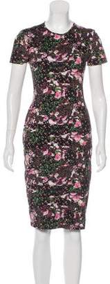 Givenchy Floral Print Midi Dress
