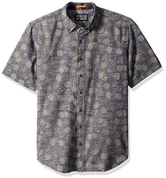 Reyn Spooner Men's Spooner Kloth Tailored Fit Button Front Hawaiian Shirt