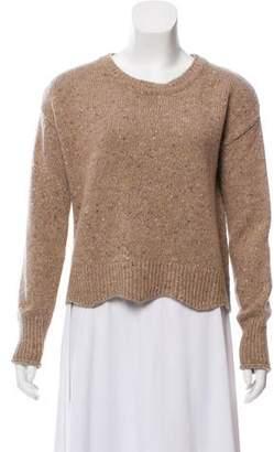 Rebecca Minkoff Wool Long Sleeve Sweater