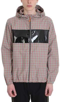 Helmut Lang Sport Zip Up Polyester Multicolor Checked Jacket