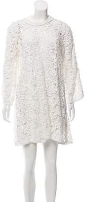 Isabel Marant Étoile Crochet Long Sleeve Dress