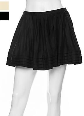 Twenty8twelve Wilma Linen Tiered Swing Skirt